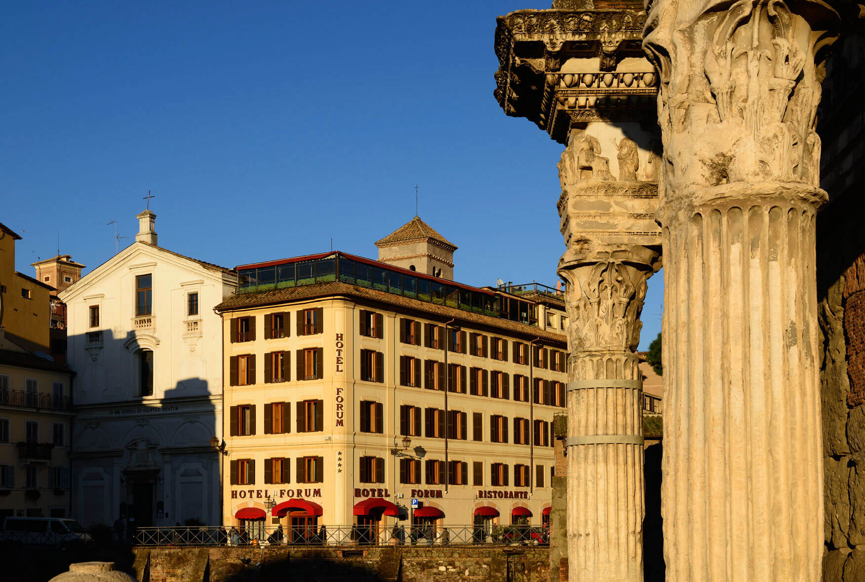 Forum Hotel Rome Hotels In Ancient Rome